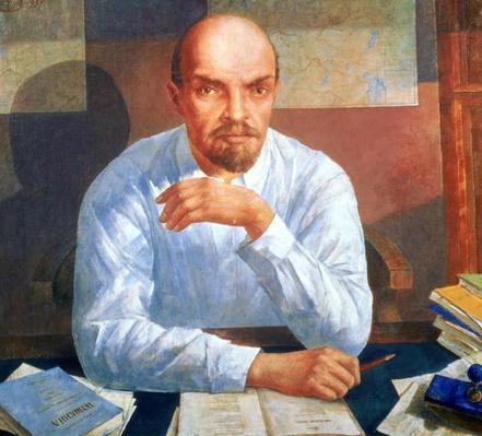 Portrait of Vladimir Ilyich Lenin