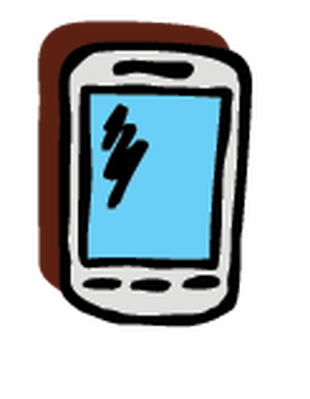 Electronics - Cell Phone 5 | Clipart