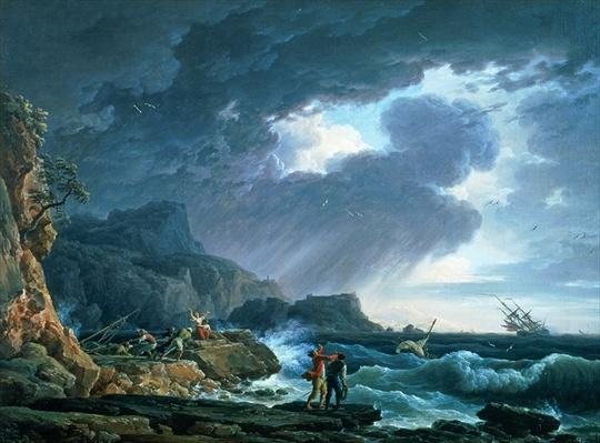 A Seastorm, 1752