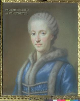 Countess Maria Josepha von Harrach, wife of Count Guido von Harrach