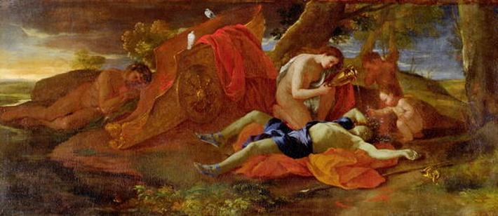 Venus Weeping over Adonis, c.1625