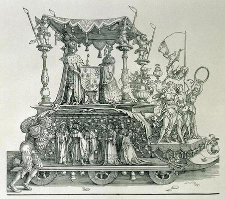 The Burgundian Marriage or the Triumphal Procession of Emperor Maximilian I of Germany