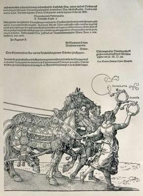 Triumphal Chariot of Emperor Maximilian I, Emperor of Germany