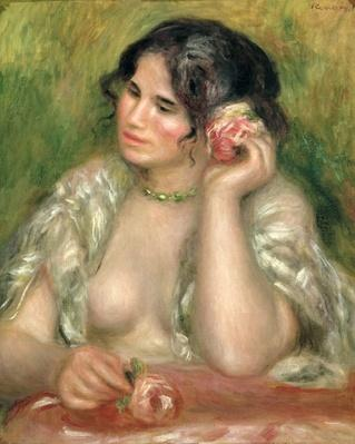 Gabrielle with a Rose, 1911