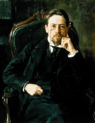 Portrait of Anton Pavlovich Chekhov, 1898