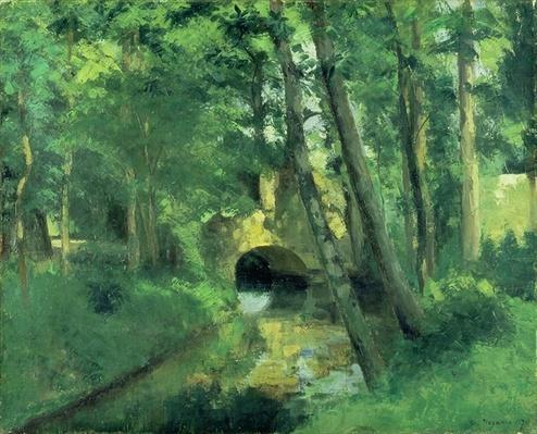 The Little Bridge, Pontoise, 1875