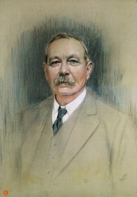 Portrait of Sir Arthur Conan Doyle