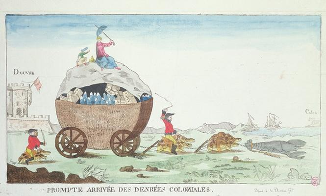 The Prompt Arrival of Colonial Goods, 1807