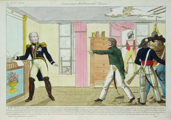 Assassination of Marshal Brune in Avignon, 2 August 1815, 1815