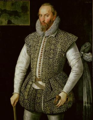 Portrait of Sir Walter Raleigh, 1598