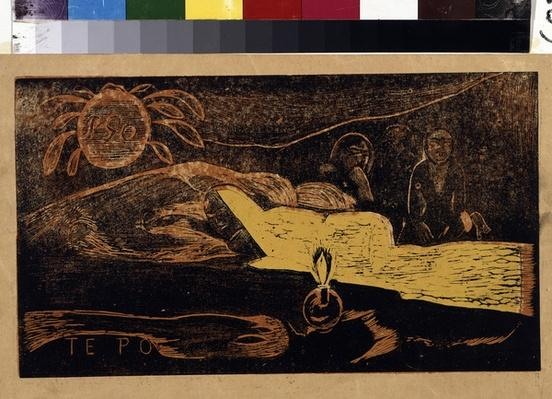 Te Po or La Grande Nuit, from the series 'Noa Noa', 1893-94