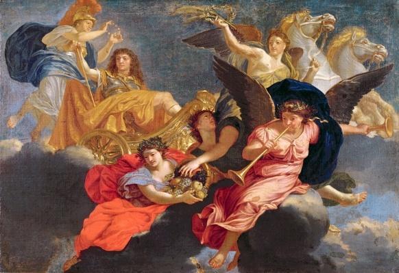 Apotheosis of King Louis XIV of France