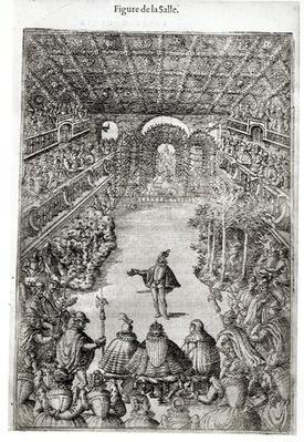 """Balthazar de Beaujoyeux: """"Ballet comique de la reine"""", 1581"""