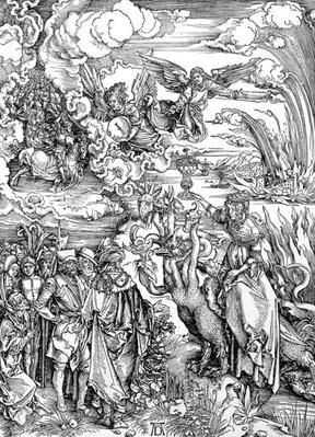 The Babylonian Whore from the 'Apocalypse' or 'The Revelations of St. John the Divine', pub. 1498