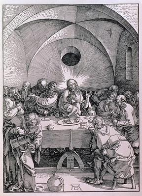 The Last Supper from the 'Great Passion' series, pub. 1511