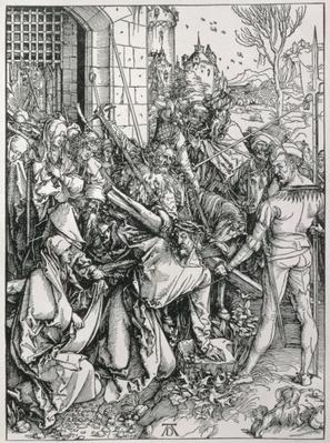 The Bearing of the Cross from the 'Great Passion' series, pub. 1511
