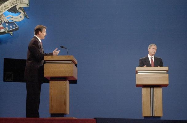 Al Gore and George W. Bush Battle in First Debate | U.S. Presidential Elections: 2000