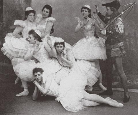Swan Lake, Mariinsky Theatre, 1895