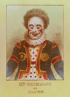 Mr Grimaldi as Clown