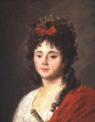 Portrait of Mademoiselle Maillard
