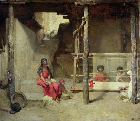 Weavers at Bou-Saada