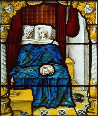 Tobias and Sara on their Wedding Night, ca 1520