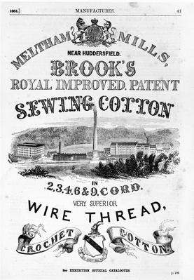 Brook's Cotton Mills | Industrial Revolution
