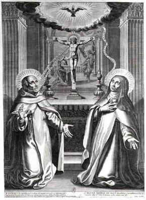 St. John of the Cross and St. Teresa of Avila