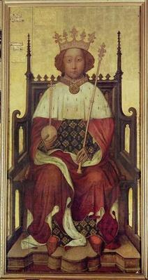 Portrait of Richard II 'The Westminster Portrait', 1390s
