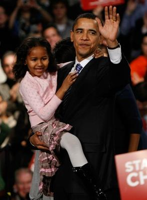 Obama Holds Caucus Night Rally | U.S. Presidential Elections 2008