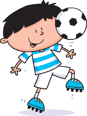 Footy Kid | Clipart