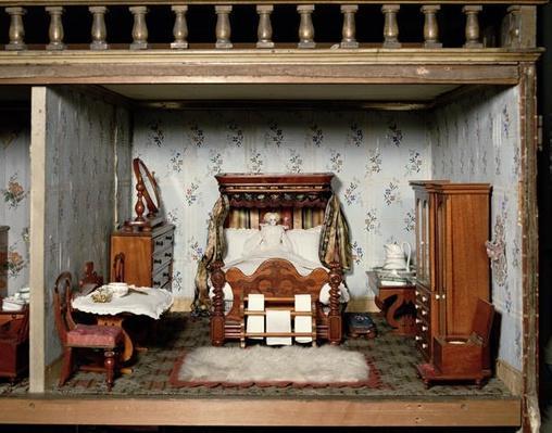 A bedroom in 'Mrs Bryant's Pleasure', c.1860