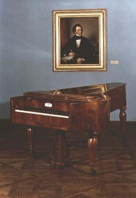Piano belonging to Franz Peter Schubert