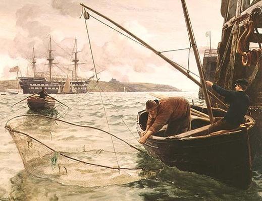 A Smelt Net, 1886