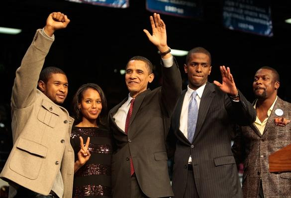 Obama Campaigns Throughout South Carolina Ahead Of Democratic Primary   U.S. Presidential Elections 2008