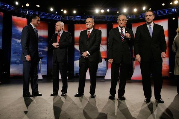 Republican Candidates Debate Ahead Of Florida Primary | U.S. Presidential Elections 2008