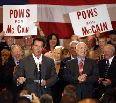 John McCain Stumps Throughout The Country On Super Tuesday | U.S. Presidential Elections 2008