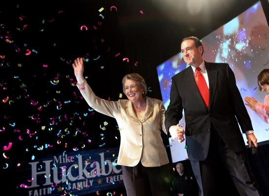 Mike Huckabee Attends Super Tuesday Watch Party | U.S. Presidential Elections 2008