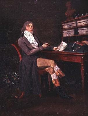 Portrait of Charles Maurice de Talleyrand-Perigord
