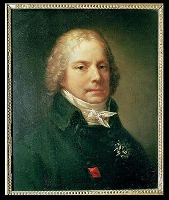 Portrait of Charles Maurice de Talleyrand-Perigord