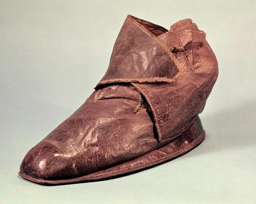 Boot belonging to Charles Maurice de Talleyrand-Perigord