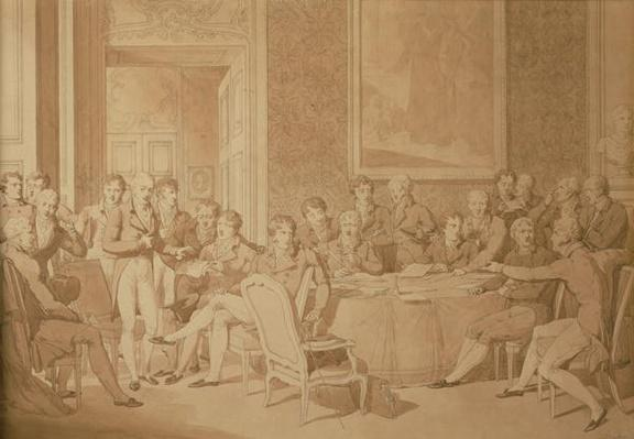 The Congress of Vienna, 1815