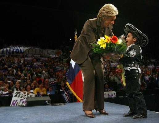 Hillary Clinton Attends Campaign Rally In El Paso | U.S. Presidential Elections 2008