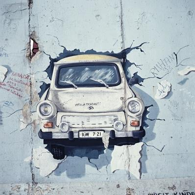 Trabant Graffiti | Berlin Wall | The 20th Century Since 1945: Postwar Politics
