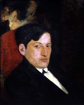 Portrait of D. Shevardnadze, 1921