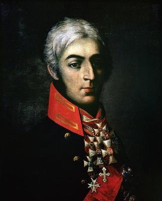 Portrait of Prince Peter Bagration