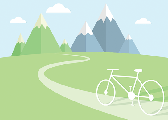 The Adventures of Road Cyclists | Clipart
