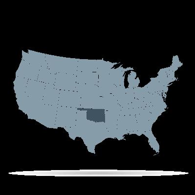 U.S. States - Oklahoma | Clipart