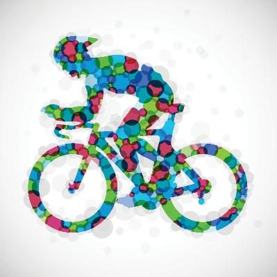 Color Cyclist | Clipart