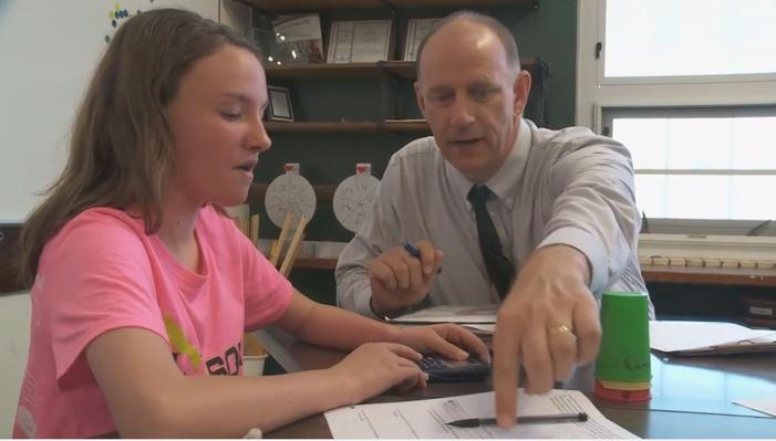 Jim Mamer: 7th Grade | Inside the Classroom: Math